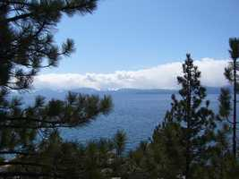 12. Lake Tahoe -- There are a vast variety of hiking trails around Lake Tahoe, but trails like the Tahoe Rim Trail offer a panoramic view of the lake and allow hikers to retrace Indian paths and pioneer trails. Echo Lakes Trail is off Highway 50 and can take visitors walking along to Lower Echo Lake or to Upper Echo Lake.