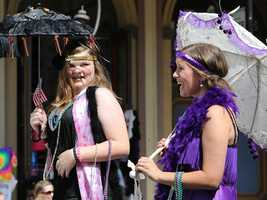 Jazz fans march in the Sacramento Music Festival and Jubilee parade on May 24.