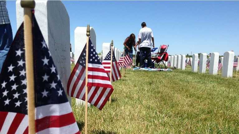 The Sacramento Valley National Cemetery near Dixon was dedicated on April 22, 2007.