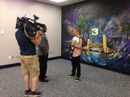 T.J. Dillashaw, the new UFC Bantamweight Champion and Angels Camp native, stopped by KCRA 3 to chat with Del Rodgers and Lisa Gonzales on Friday.