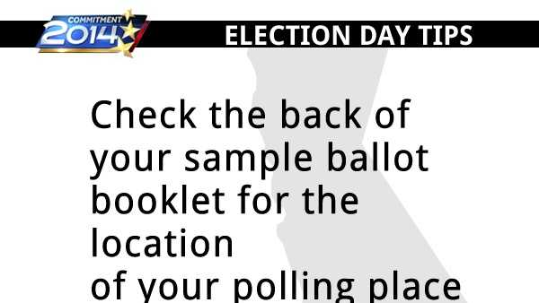 Voting tips for California's primary election