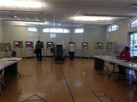 No lines at this Sacramento polling place and with so few voters, many believe each vote may count that much more.