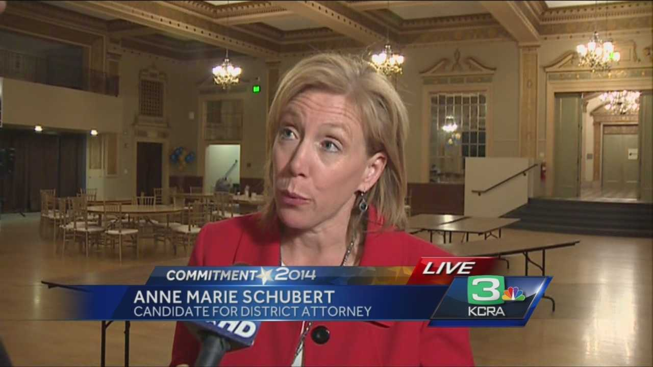 Anne Marie Schubert will be Sacramento County next district attorney.