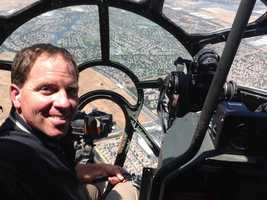 KCRA 3's Brian Hickey had a chance to take the skies inside the B-29.