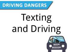 Texting and driving has proven to be dangerous. Updating social media or reading news feeds on Facebook are just some of the temptations for some drivers.