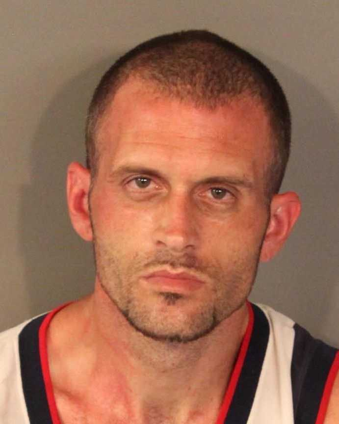 Officers said Richard Burns was arrested on charges of operating a chop shop, four counts of possession of stolen property, grand theft and criminal conspiracy.