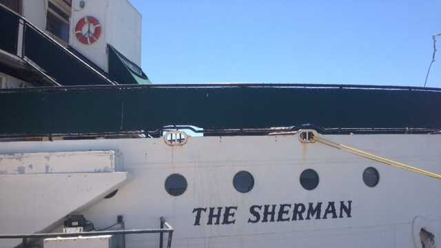 A historic ship called The Sherman will become a seafood restaurant on the waterfront in downtown Stockton.