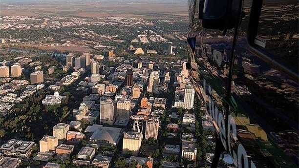 19.) Gorgeous day from #LiveCopter!Photo credit: Marcelino Navarro #Sacramento #NorCal #news #behindthescenes #beautiful #northerncalifornia #happy #like