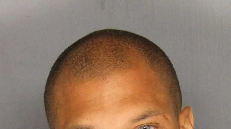Jeremy Meeks, 30, was arrested on felony weapon charges, police in Stockton said.