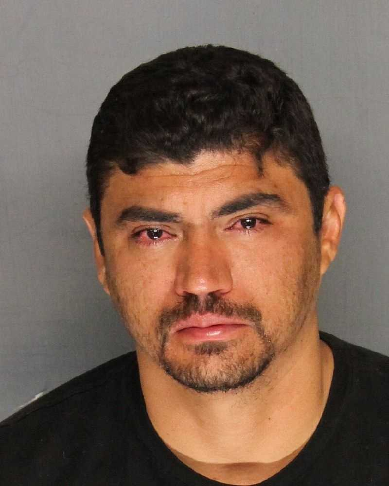 Omar Rios, 33, was among 13 people arrested in San Joaquin County in connection with a large marijuana grow operation, according to the sheriff's department.