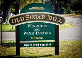 14. Wine tasting at any number of local vineyards across the region, including at the Old Sugar Mill in Clarksburg.