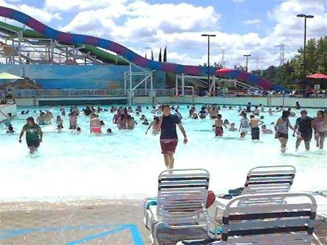 10. Sliding down on an inner tube at Raging Waters in Sacramento or Golfland Sunsplash in Roseville.