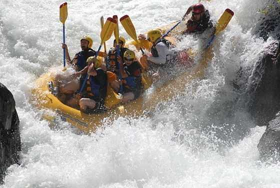 6. Rafting down the Sacramento or American rivers.