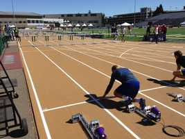 The U.S. Outdoor Track and Field Championships got underway Thursday morning at Hornet Stadium in Sacramento. (June 26, 2014)