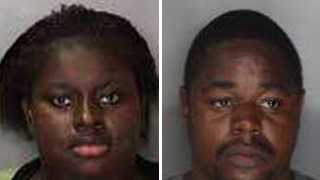 Davonna Byrd, 24, and Damian Porter, 25