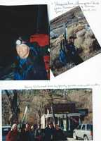 """9.) In January 2001, I skied across the Sierra -- from Placerville to Genoa, Nevada. Along with two friends, we retraced the trails once used by Gold Rush-era skier John """"Snowshoe"""" Thompson. The 100-mile trek took five days and included a major Sierra storm."""