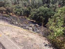 At least one person has died in a crash on Highway 50 in El Dorado County, the California Highway Patrol said. (July 4, 2014)