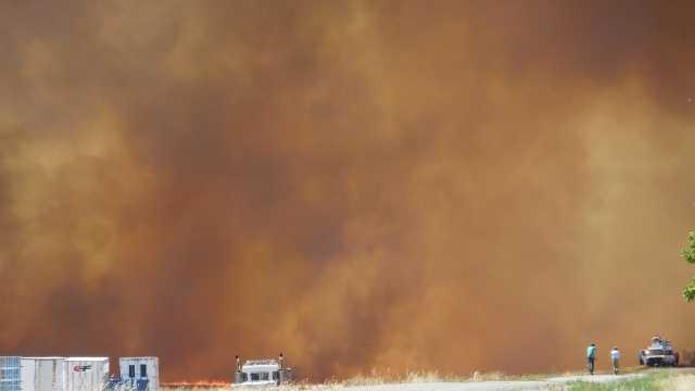Cal Expo fire