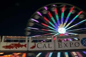 The monorail at the California State Fair.