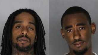 From left: Shafeeq Jamal Purdy and Christopher Darnell Ross (July 12, 2014)