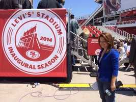 The San Francisco 49ers will prepare for their inaugural season at Levi's Stadium. (July 17, 2014)