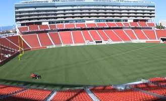 Levi's Stadium is nearly 2 million square feet. (July 17, 2014)