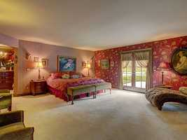 This home has four bedrooms and four bathrooms.