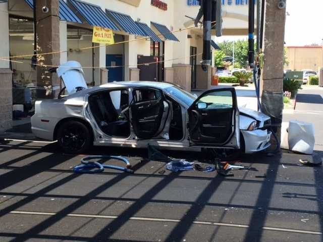 Sacramento Car Wash Accident