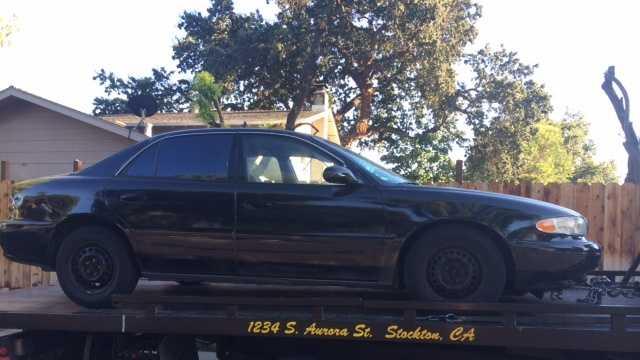 Stockton suspect car