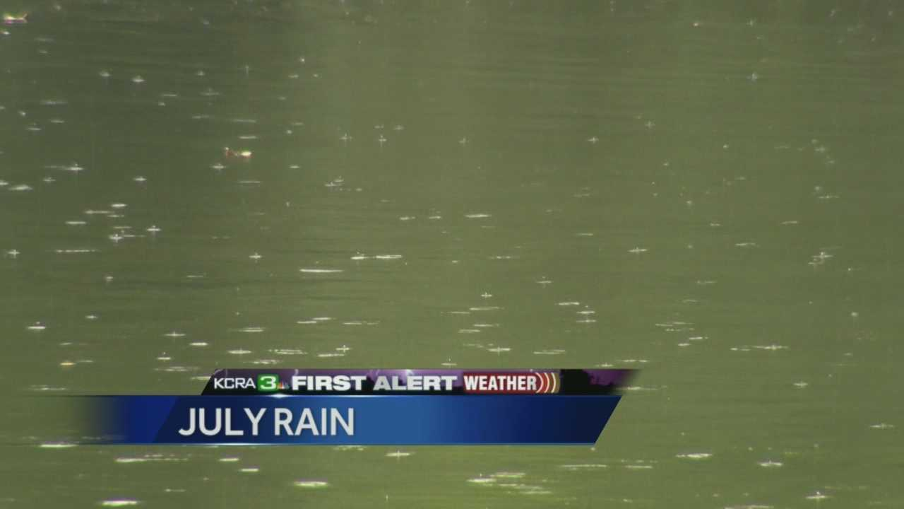 Summer rain brings welcome relief in July.