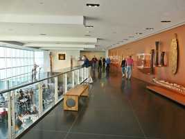 1. The Crocker Arts Museum has been a staple in Sacramento since 1885 and has a full gallery of beautiful pieces of art.
