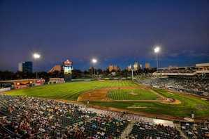 3. Sacramento River Cats baseball games at Raley Field are fun outings for both baseball lovers and the casual fan.