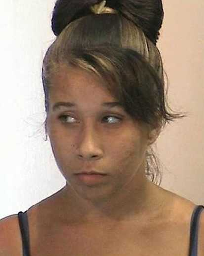 Officers said Ashley Fambrough was taken into custody on charges of credit card fraud and conspiracy to commit fraud.