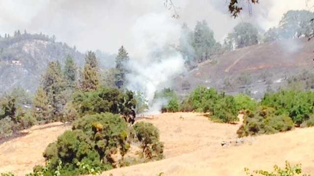 Sand Fire in Amador County