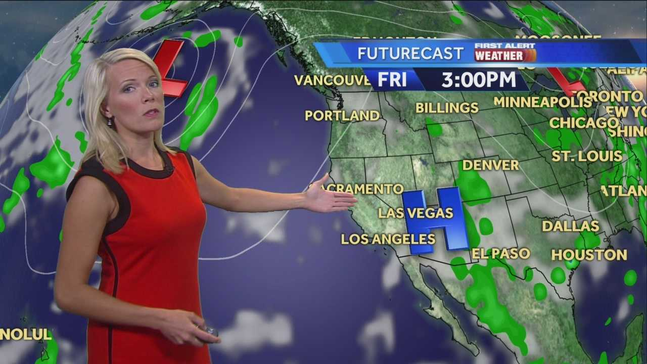 KCRA 3 First Alert Weather meteorologist Tamara Berg Focuses on your weekend weather.