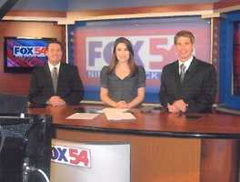 8.) I worked in Huntsville, Alabama as an anchor and reporter.