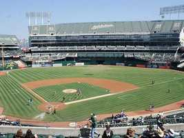 9) The Wave -- The first full-stadium Wave was started at the Oakland Coliseum in 1981 during a sold out game between the Oakland A's and the New York Yankees.