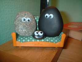 12) Pet Rocks -- The ideal pet who didn't eat or do anything was thought up as a joke by Gary Dahl, of Los Gatos. More than a million people bought Pet Rocks as Christmas gifts in 1975, and Dahl became a millionaire by 1976.