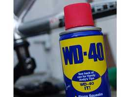 15) WD-40 -- The Rocket Chemical Company aimed to create a line of rust-prevention and degreasing products for use in the aerospace industry. After 40 attempts, three people developed WD-40 in a small San Diego lab.
