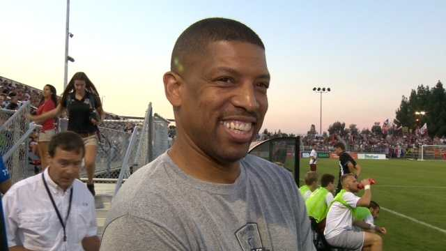 Mayor Kevin Johnson (Aug. 10, 2014)