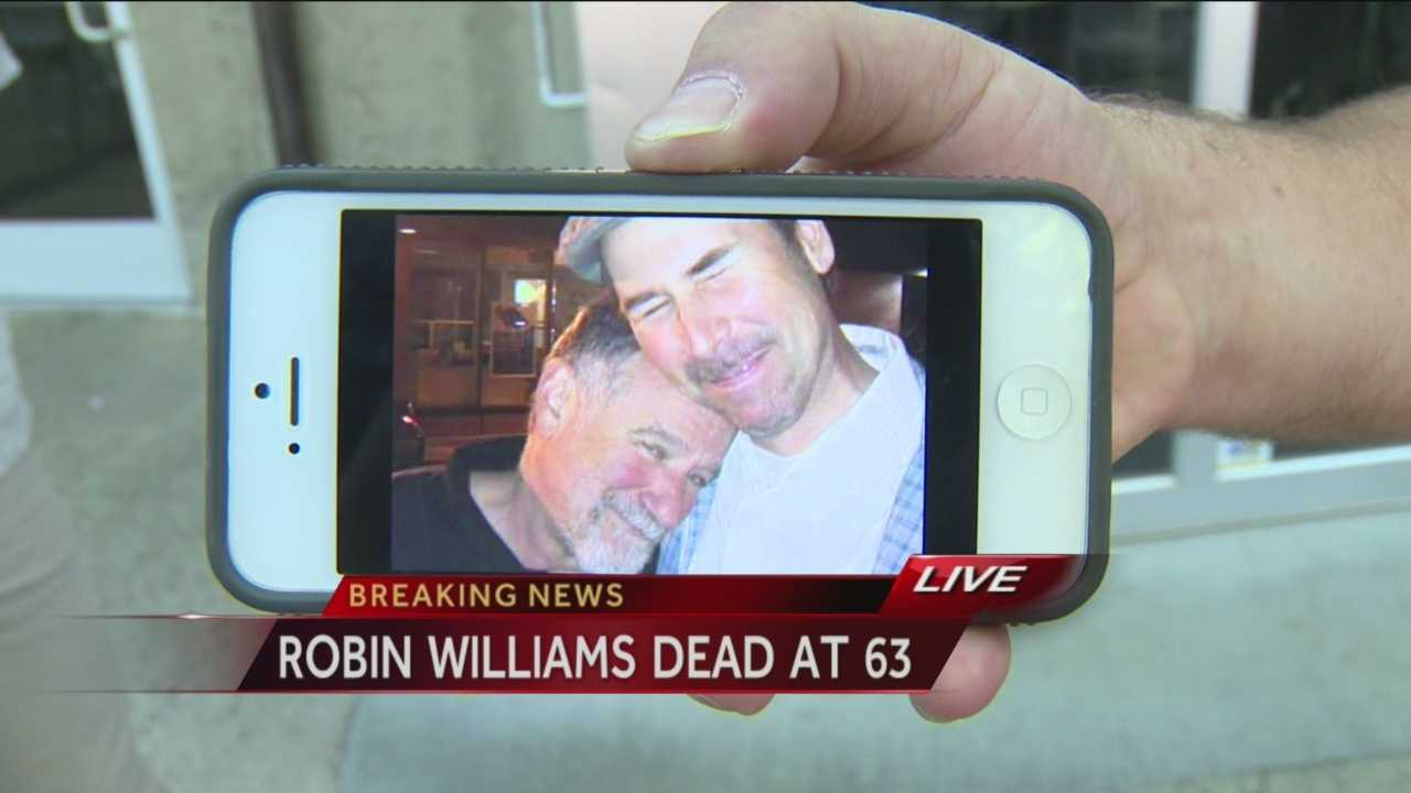 Local comedian reacts to death of Robin Williams
