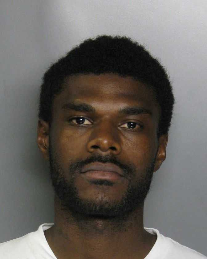 Orlando Rhinehart, 28, was arrested in connection with a May 10 homicide in Peregrine Park, police said.