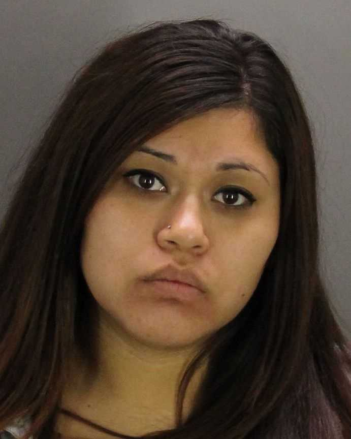 Ivonne Govea, 23, was arrested in Stockton on numerous weapons charges after a traffic stop, police said.