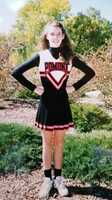 Kellie, like Melinda, was also a high school cheerleader.