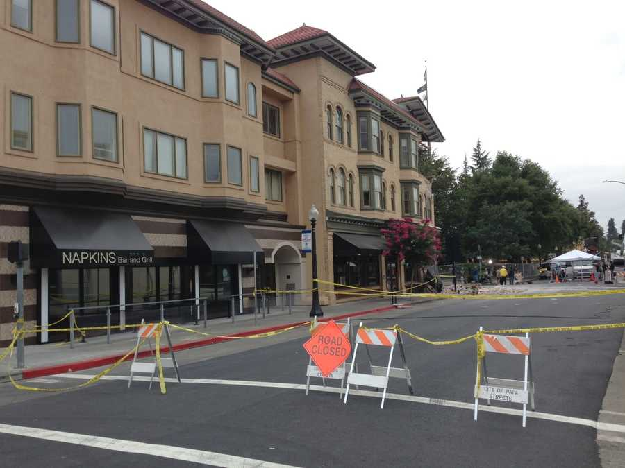 Clean up continues after the powerful Napa earthquake, which caught many people sound asleep. Scores were injured as the temblor knocked out power to thousands, caused gas and water lines to rupture and sparked fires. (Aug. 25, 2014)