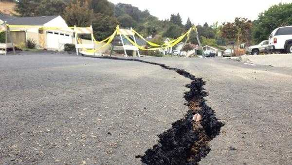AFTERSHOCKS: Napa County was rattled by a string of small aftershocks two days after the large Napa earthquake. The US Geological Survey says the 3.9-magnitude quake struck at 5:33 a.m. Tuesday about 7 miles south of the city of Napa.