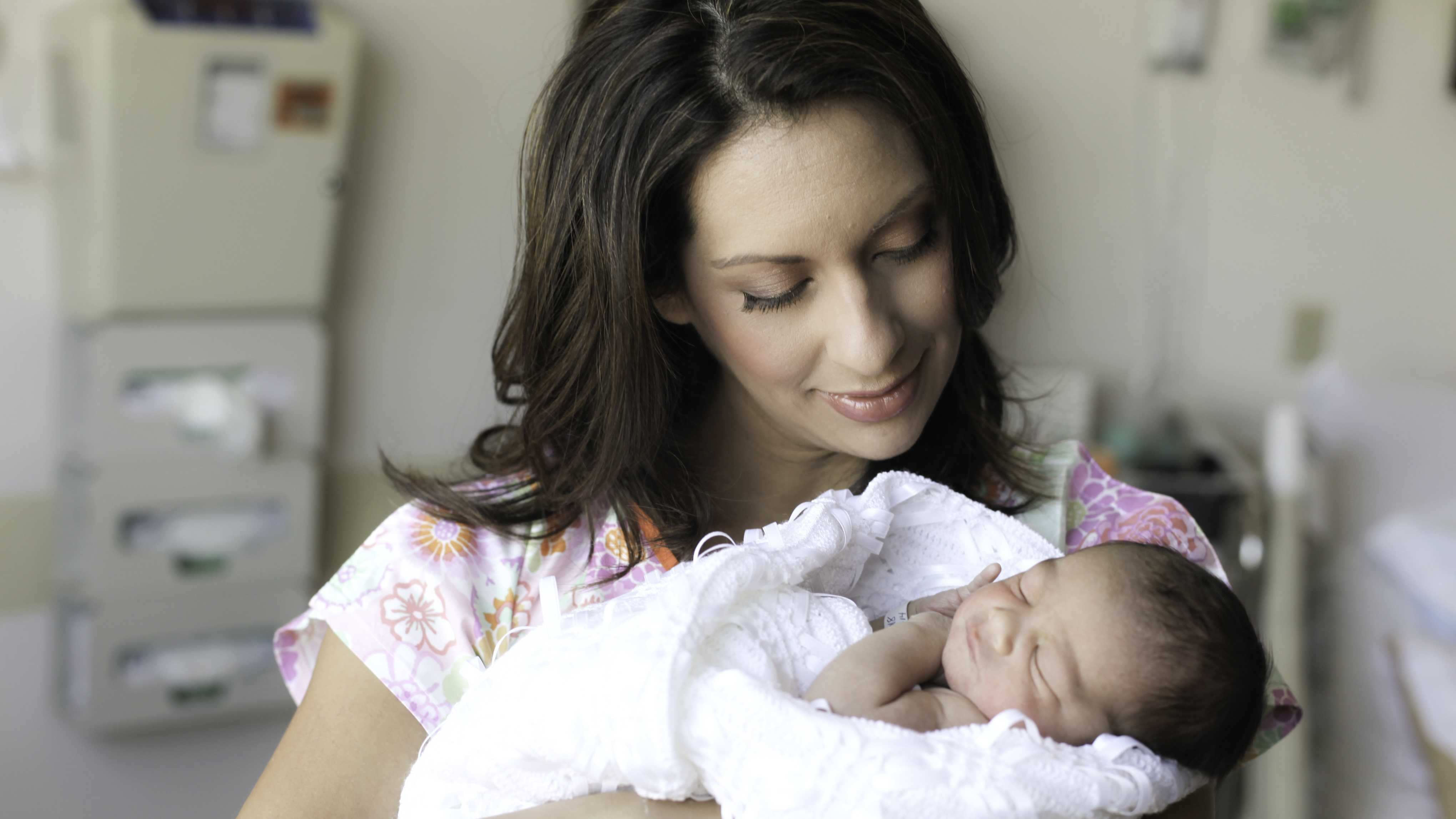 Here's reporter Leticia Ordaz and her baby, Bronx, who was born this Labor Day weekend.