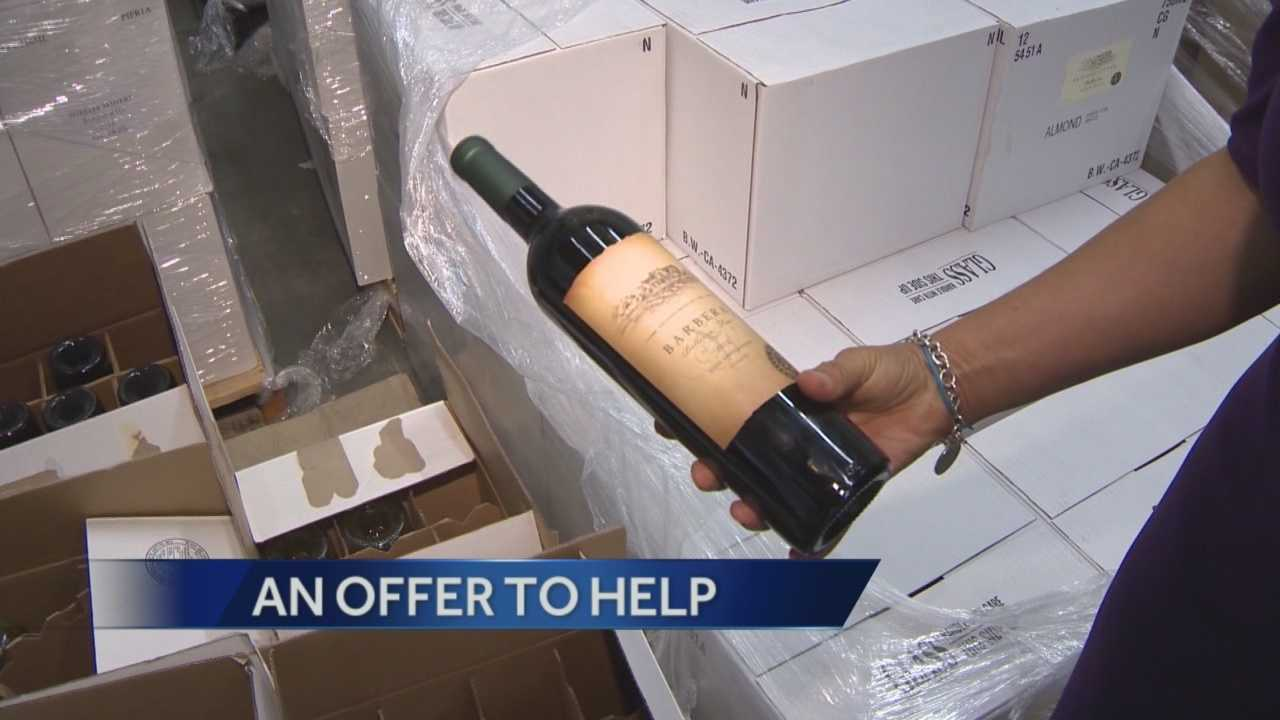Help for Napa wineries impacted by quake