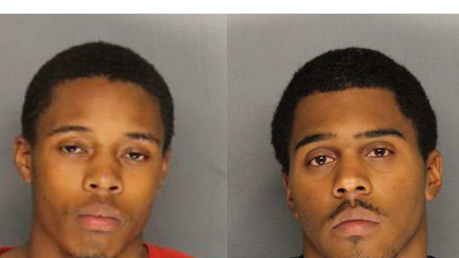 From left to right: Christon Jones and Sedrick Hutchinson (Sept. 10, 2014)