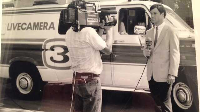 15.) This is actually my second tour of duty at KCRA. I first began working for Channel 3 in 1984, doing consumer and investigative reporting. Here's a picture from back in the day.